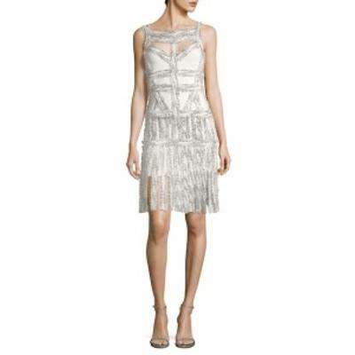 エルベレジェ レディース ワンピース Cut-Out Fringe Dress