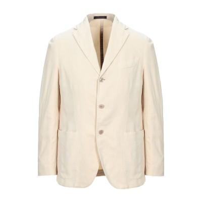 ザ ジジ THE GIGI テーラードジャケット ベージュ 50 コットン 50% / 不織布 50% テーラードジャケット