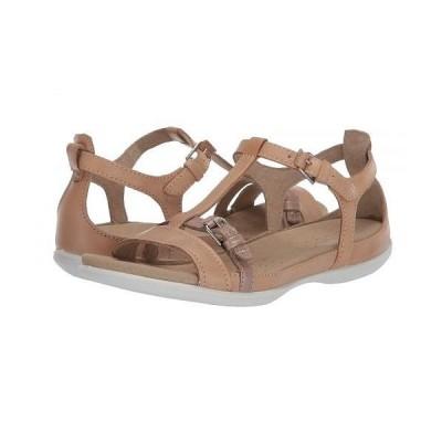 ECCO エコー レディース 女性用 シューズ 靴 サンダル Summer Buckle Sandal - Powder/Champage Metallic Cow Nubuck/Cow Leather