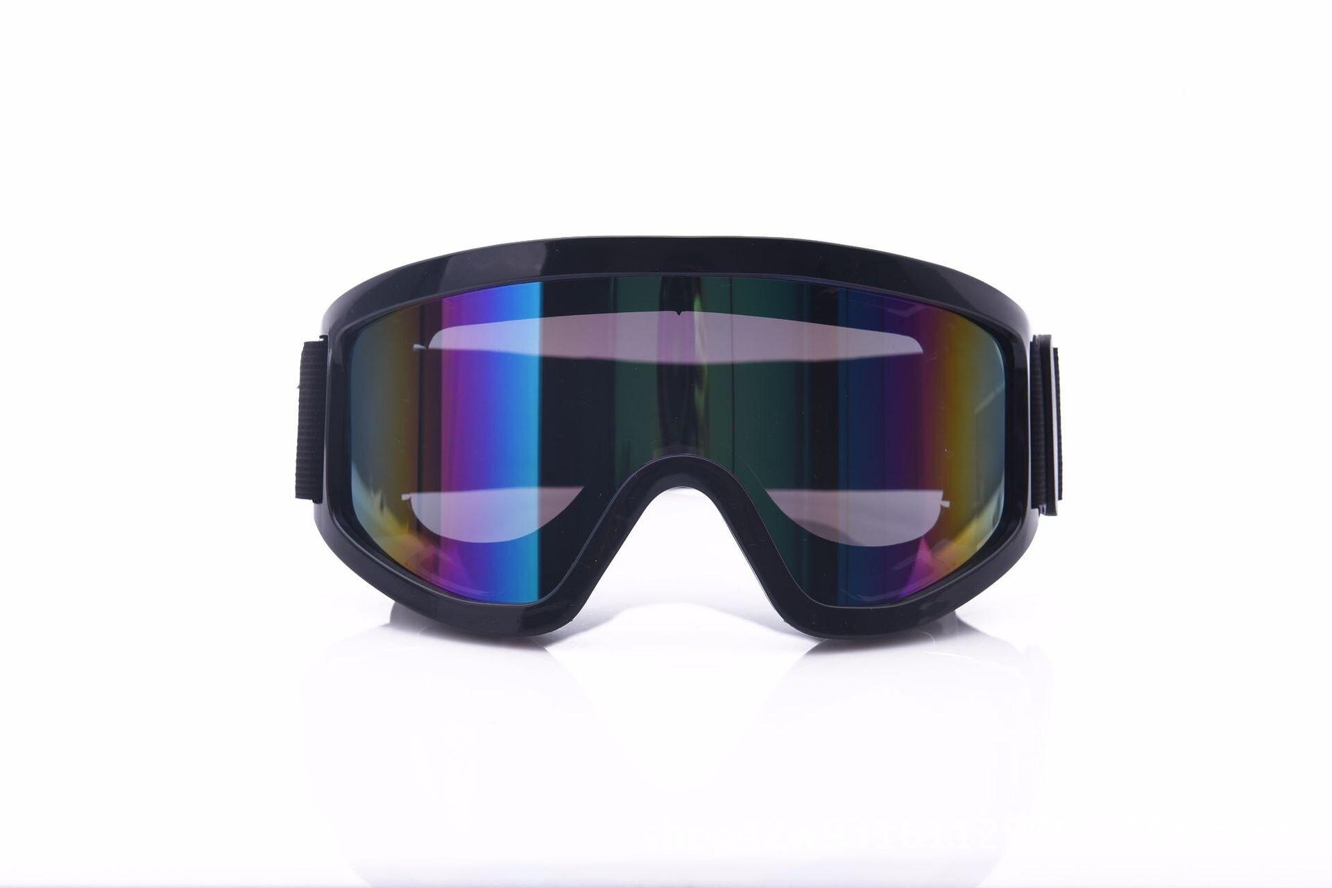 強化片運動護目鏡防uv防強光防塵防風沙防沖擊防飛濺滑雪防護眼鏡