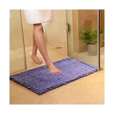 (Jiyaru) シェニール玄関マット バスマット お風呂マット 吸水マット 足拭きマット 玄関マット 室内用 カーペッ