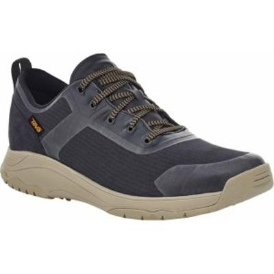 テバ メンズ スニーカー シューズ Gateway Low Hiking Sneaker Black/Plaza Taupe Recycled Polyester/Suede