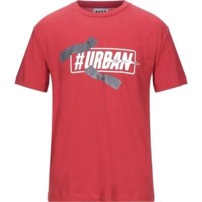 LHU アーバン LHU URBAN メンズ Tシャツ トップス T-Shirt Red