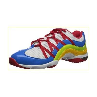 【並行輸入品】Bloch Women's Wave Split Sole Dance Sneaker Shoe, Blue/Multi, 4 M US