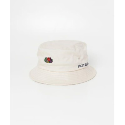 SENSE OF PLACE by URBAN RESEARCH/センスオブプレイス バイ アーバンリサーチ 【WEB限定】FRUIT OF THE LOOM バケットハット WHITE one