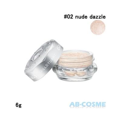 ジェル・クリームアイシャドウ ジルスチュアート JILL STUART ジェリーアイカラー#02 nude dazzle 6g
