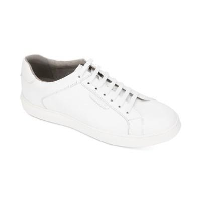 ケネスコール スニーカー シューズ メンズ Men's Liam Tennis-Style Sneakers White