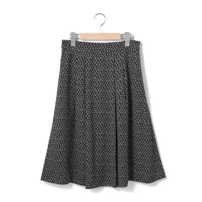 KEITH/キース モチーフフラワー スカート ネイビー 40