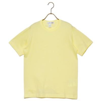 COMME des GARCONS Tシャツ メンズ コムデギャルソン SHIRT T-SHIRT YELLOW