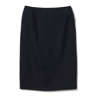 【ビームス アウトレット】 Demi-Luxe BEAMS / スラブツイード セミタイトスカート レディース NAVY 36 BEAMS OUTLET