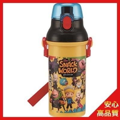 スケーター 子供用 水筒 480ml スナックワールド 日本製 PSB5SAN