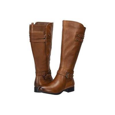 ナチュラライザー Jackie Wide Calf レディース ブーツ Cinnamon Leather