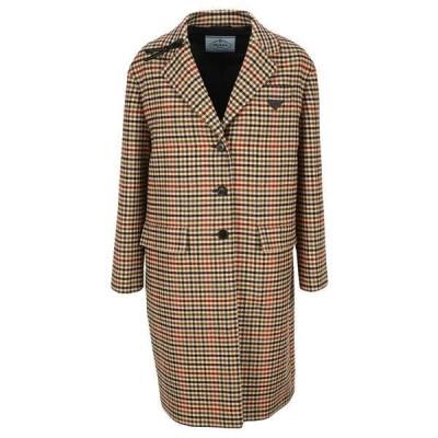 プラダ レディース コート アウター Prada Single-Breasted Overcoat -