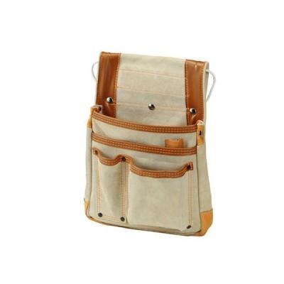 プロスター Delma leather lineデルマ床革 釘袋(大) H340×W260mm NO-872 0