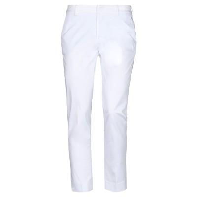 PT Torino パンツ ホワイト 42 コットン 95% / ポリウレタン 5% パンツ