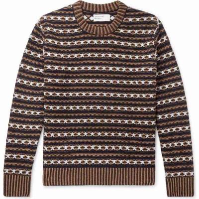 ユニバーサルワークス UNIVERSAL WORKS メンズ ニット・セーター トップス sweater Dark blue