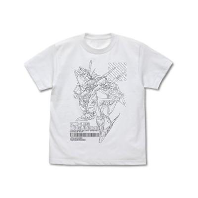 【送料無料対象商品】コスパ 機動戦士ガンダム 閃光のハサウェイ クスィーガンダム Tシャツ WHITE【ネコポス/ゆうパケット対応】