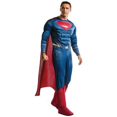 スーパーマン コスチューム 衣装 バットマン vs スーパーマン 大人 男性用 コスチューム ハロウィン コスプレ ジャスティスの誕生