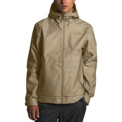 ノースフェイス メンズ ジャケット・ブルゾン アウター The North Face Men's Millerton Rain Jacket Twill Beige