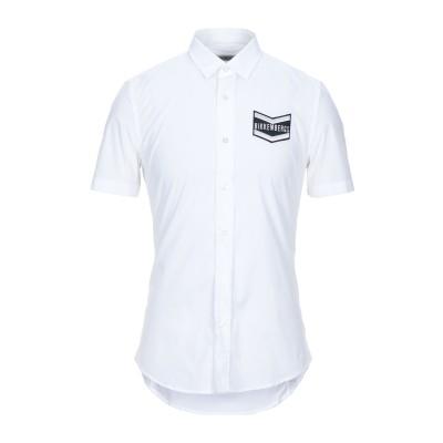 ビッケンバーグ BIKKEMBERGS シャツ ホワイト 39 コットン 96% / ポリウレタン 4% シャツ