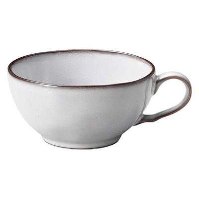 KOYO ラフェルム スモークホワイト 片手スープカップ