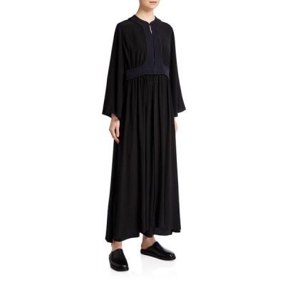 ザ ロウ レディース ワンピース トップス Smith Silk Bell-Sleeve Maxi Dress