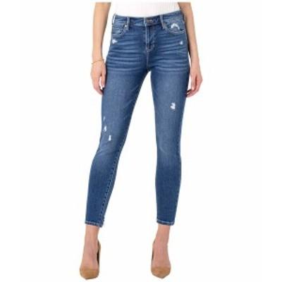 リバプール レディース デニムパンツ ボトムス Abby Ankle Skinny Jeans in Harper Harper