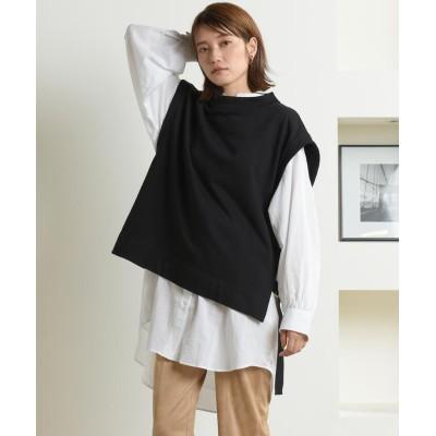 (LIPSTAR/リップスター)【セット商品】ベスト&シャツ/レディース ブラック