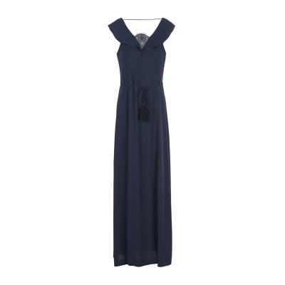シルビアンヒーチ SILVIAN HEACH ロングワンピース&ドレス ダークブルー S ポリエステル 100% ロングワンピース&ドレス