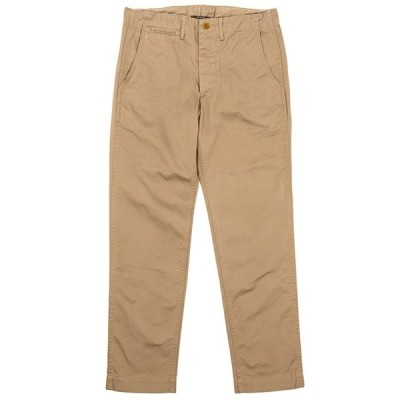 WORKERS/ワーカーズ Officer Trousers Slim Type2 Beige Chino