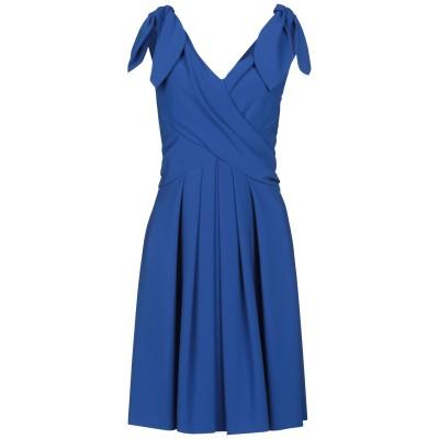 モスキーノ MOSCHINO ミニワンピース&ドレス ブルー 38 64% トリアセテート 36% ポリエステル ミニワンピース&ドレス