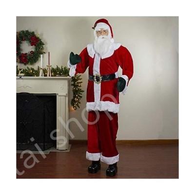 Northlight Santa Claus Figures, Red