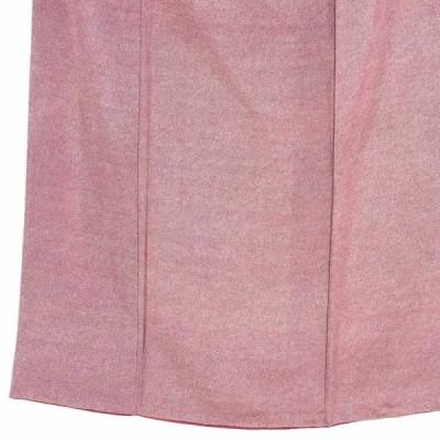 リサイクル着物 小紋 正絹赤紫地袷江戸小紋着物