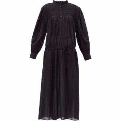 イザベル マラン Isabel Marant Etoile レディース ワンピース ワンピース・ドレス Perkins dropped-waist cotton dress Black