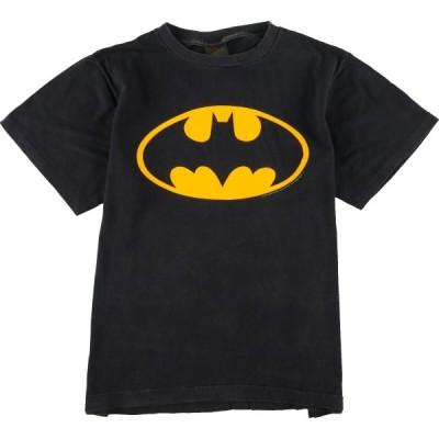 バットマン キャラクタープリントTシャツ USA製 L /eaa057646