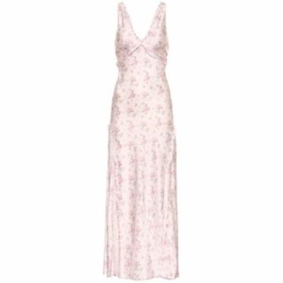 ラブシャックファンシー LoveShackFancy レディース ワンピース ワンピース・ドレス Kendall floral silk midi dress charm