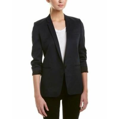 Blazer ブレザー ファッション 衣類 The Kooples Smocking Wool-Blend Blazer