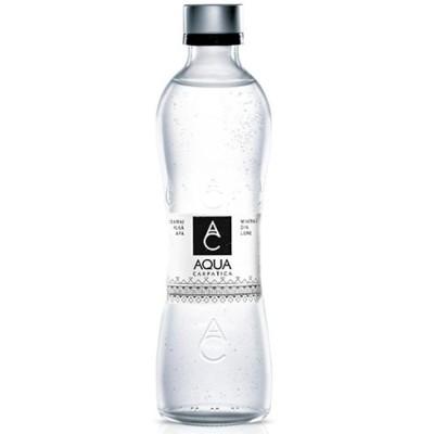 【送料無料】AQUA CARPATICA アクア カルパチカ 天然炭酸水 750ml×6本 天然水 中硬水 ルーマニア産 スパークリング ガス入りミネラルウォーター  ガラスボトル アクア カルパティ