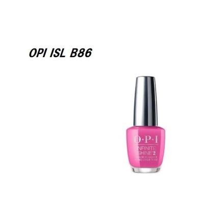 OPI 速乾 インフィニットシャイン ネイルカラー ISL B86 15ml マニキュア ネイルポリッシュ セルフネイル ピンク マット ホットピンク 新品 送料無料
