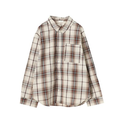 【kids】 レギュラーカラーシャツ