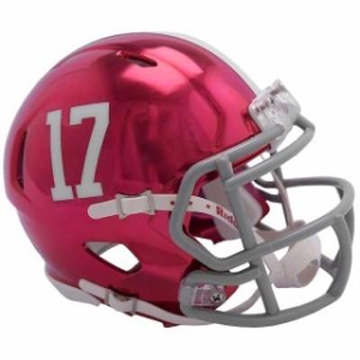 Riddell リデル スポーツ用品  Riddell Alabama Crimson Tide Chrome Alternate Speed Mini Football Helmet