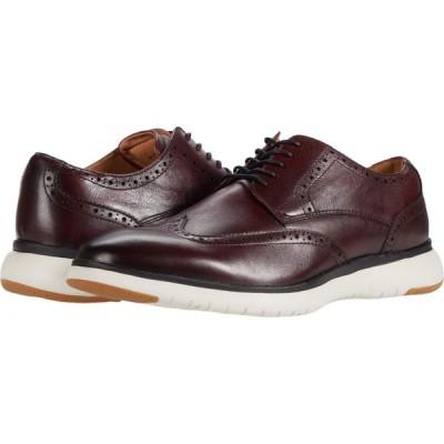フローシャイム Florsheim メンズ シューズ・靴 ウイングチップ Flair Wing Tip Oxford Burgundy Leather/White Sole