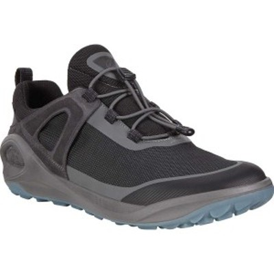 エコー メンズ スニーカー シューズ BIOM 2GO Speed Lace GORE-TEX Sneaker Dark Shadow/Titanium/Black Textile/Synthetic