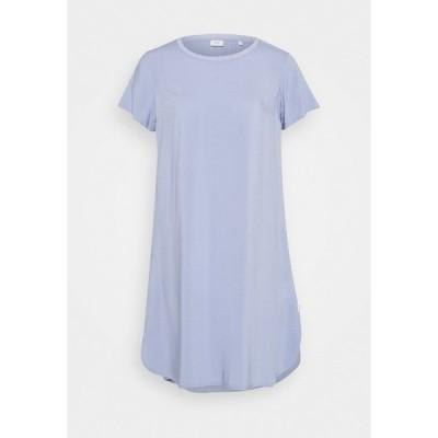 マルコポーロ デニム ワンピース レディース トップス SLEEVE DRESS - Jersey dress - soft heaven