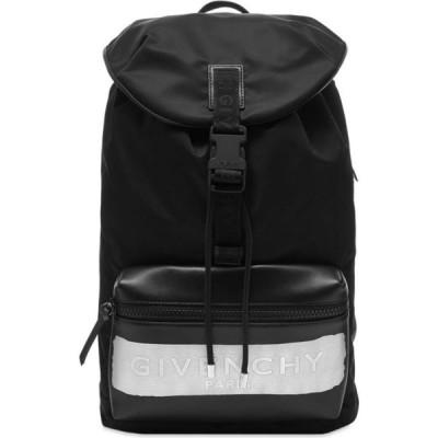 ジバンシー Givenchy メンズ バックパック・リュック バッグ light 3 latex logo backpack Black/Silver