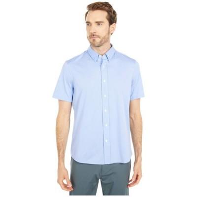ローヌ メンズ シャツ トップス Short Sleeve Commuter Dress Shirt