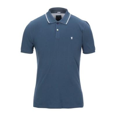 ジャギー JAGGY ポロシャツ ブルーグレー S コットン 95% / ポリウレタン 5% ポロシャツ