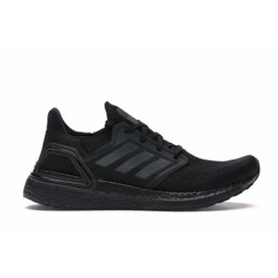 アディダス メンズ ウルトラブースト adidas Ultraboost 20 ランニングシューズ Core Black/Grey/Yellow