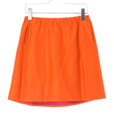 Drawer / ドゥロワー ウール スカート