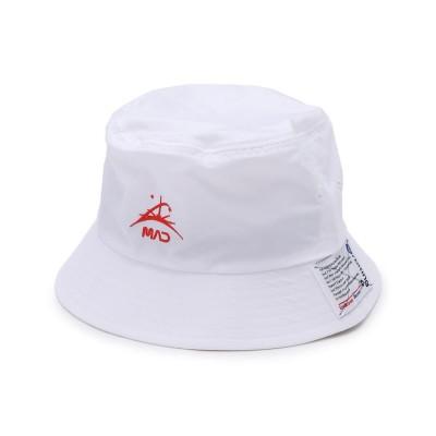 【ビーセカンド】 the MAD HATcher(マッドハッチャー)BUCKET HAT/バケットハット メンズ ホワイト 00 B'2nd